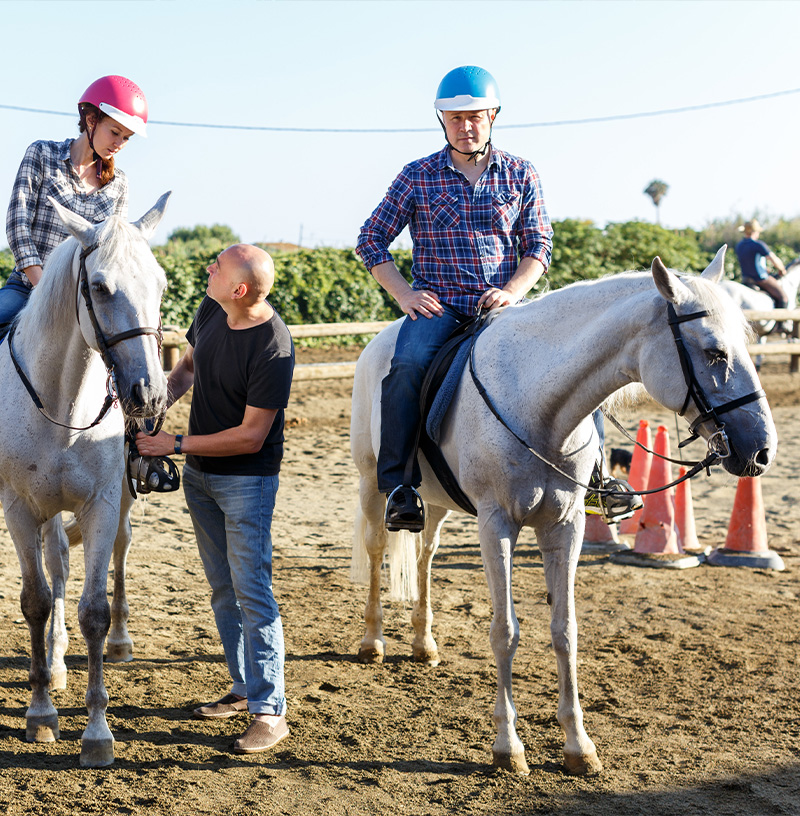 Centres et clubs equestres en France